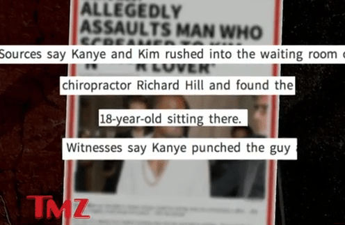 Kanye West Assaults 18 Year Old