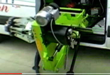 mobile tire changer