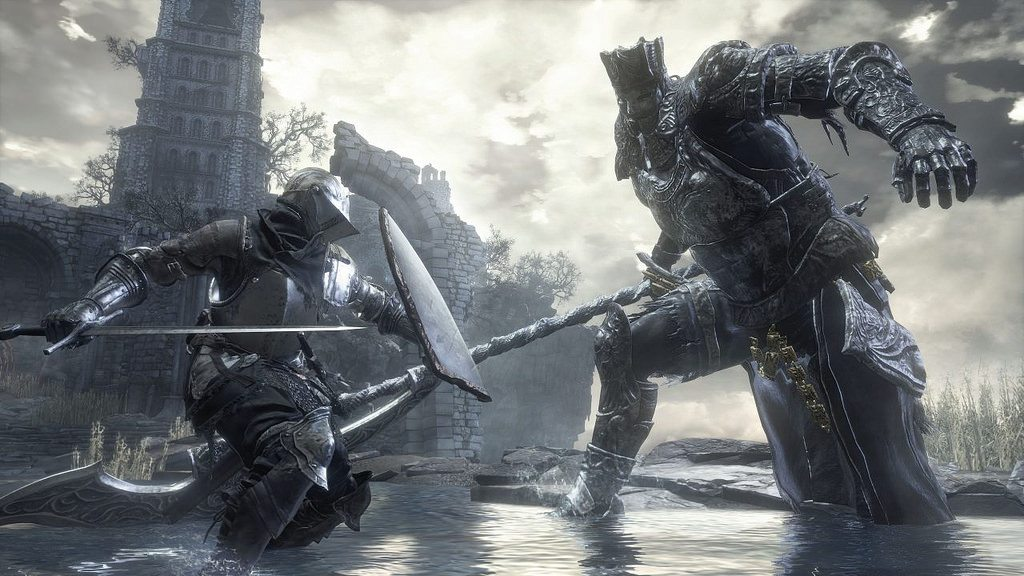"Dark Souls III introducing the ""ringed city"" - video god"