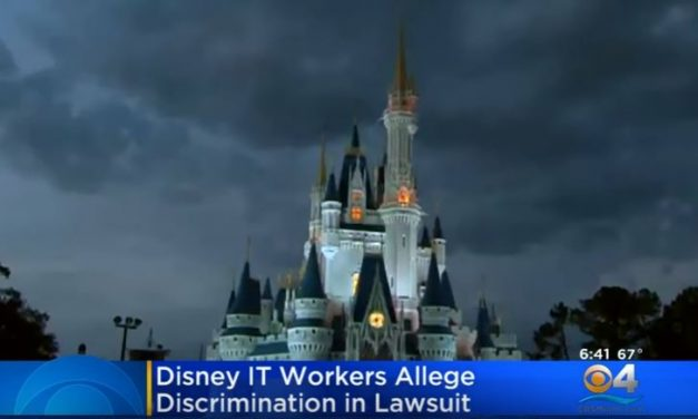 Former Disney IT Workers Sue Company Claiming Discrimination