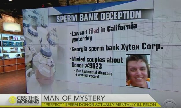Sperm Bank Under Fire For Selling Mentally-Ill Man's Sperm