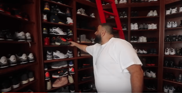 Dj Khaled Sneaker Collection is off the Chain