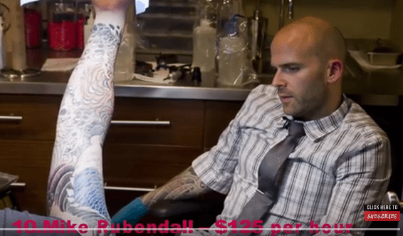 The Most Expensive Tattoo Artists in the World!