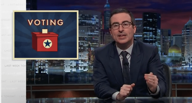 Last Week Tonight with John Oliver: Voting