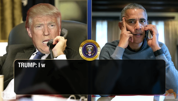Donald Trump Calls Obama To Talk About Microwaves