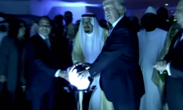 Donald Trump and the Saudi Orb – Jimmy Kimmel