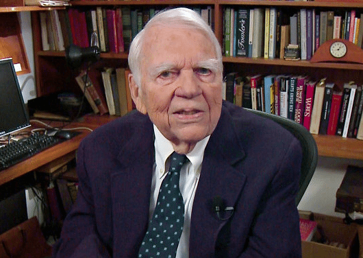 Andy Rooney Host Of 60 Minutes Dead At 92