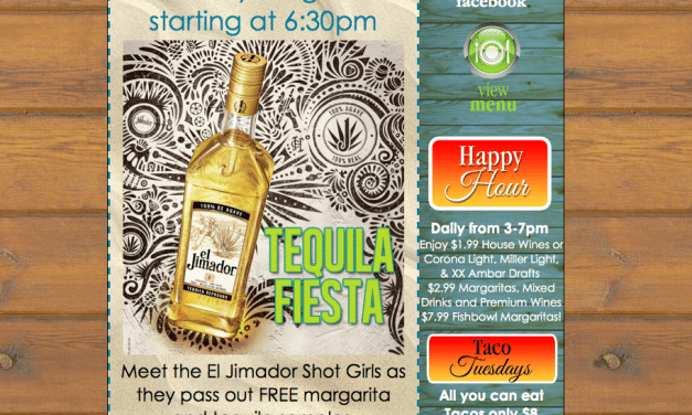 Tequila Fiesta at Tequila Sunrise in Fort Lauderdale!