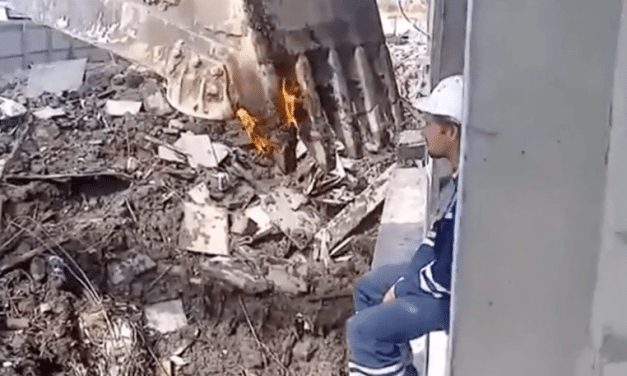 How Construction Workers Smoke Cigarettes