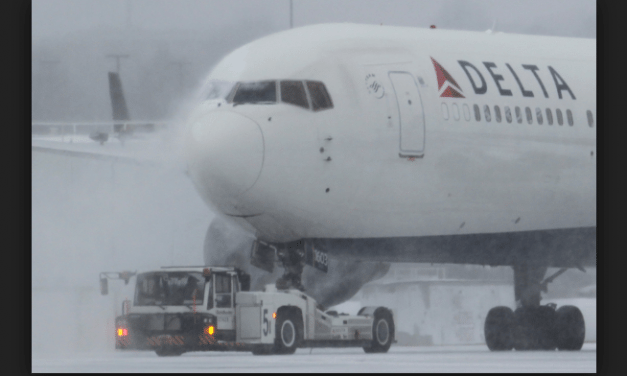 Plane Slides Off Runway At LaGuardia Airport