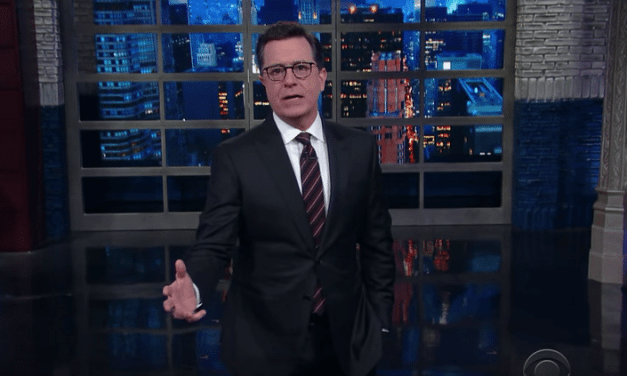 Colbert Preps The Bunker Ahead Of The GOP's Nuclear Option