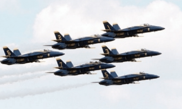 Navy Blue Angels To Continue Flight Demonstrations