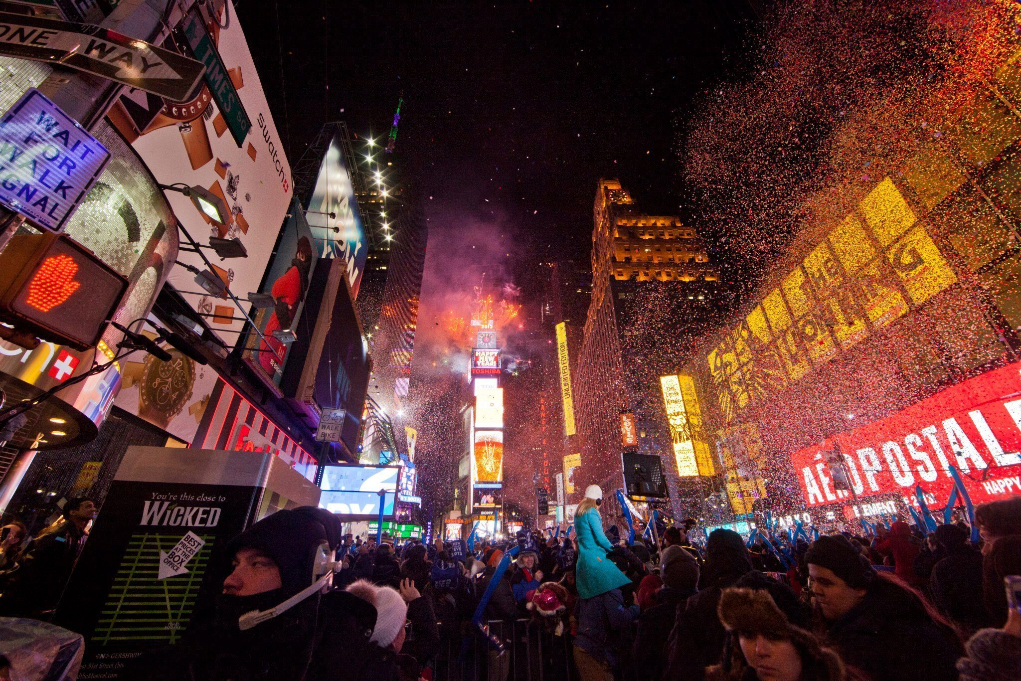 new years eve times square clean up - nyencore