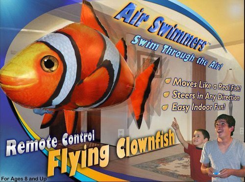 Some Body Get Kid Chronic This Flying Clownfish Here…
