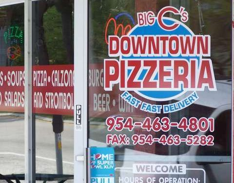 Get All Of Downtown Pizza's Football Specials Here