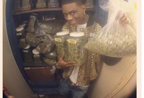 Soulja Boy Has A Bigger Bag Of Weed Than You