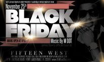 Black Friday At 15 West!!!