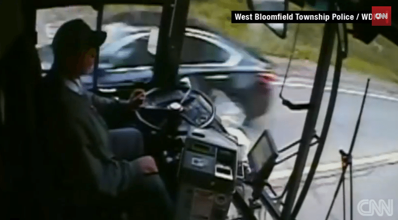 Bus Driver Falls Asleep Causes Massive Accident