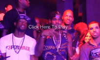 Lebron, Wade, and Pat Riley Party With Drake at Story Nightclub After Winning the NBA Championship