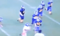 The Best Pee Wee Football Run We Have Seen All Year
