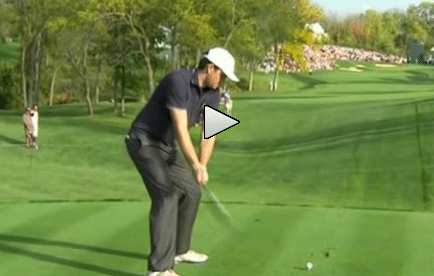 Keegan Bradley Hits Spectator in the Head With a Tee Shot