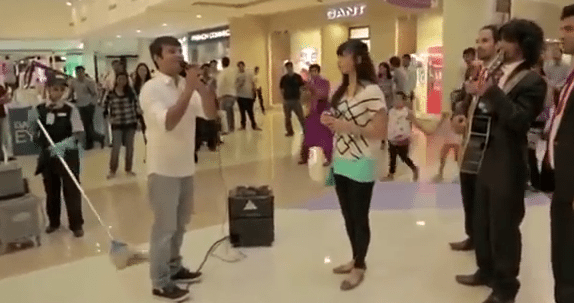Mall Marriage Proposal Goes Wrong! #EpicFail