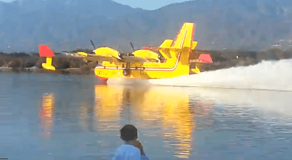 GET WISE: How Fire Fighting Planes Refill