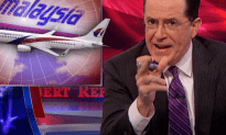Colbert on Flight MH370