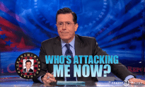 Colbert Responds to Recent Internet Attacks in Epic Fashion