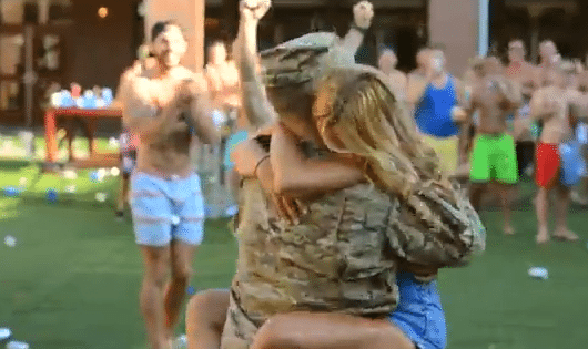 FSU Grad and US Soldier Surprises His GF at the Pike House