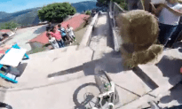 Taxco Urban Downhill with Kelly McGarry