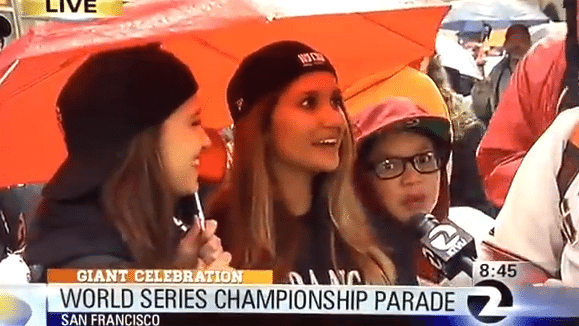 Fuck Her Right in the Pussy at the San Francisco Giants Parade