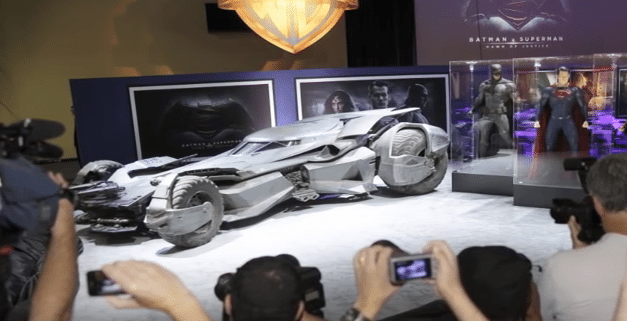 DC Comics Is Entitled to Copyright on Batmobile