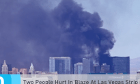 Two People Hurt From A Blaze At A Las Vegas Strip Hotel