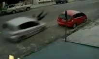 Brazilian Chick Smashed Hard by a Car…Whoops!