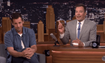 Adam Sandler And Jimmy Fallon On The Tonight Show