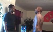 """Father Gives His Nephew An Old School Azz Whoopin On Webcam For Acting Hard On Facebook & Forced To Put The Video On His Wall! """"Put That On Your Muthaf*ckin Wall"""""""