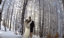 A Dog Captured Its Owners Wedding With A Go Pro Strapped On Her