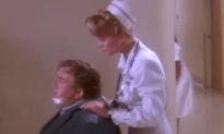 John Candy and Mariel Hemingway Play In The Movie Delirious
