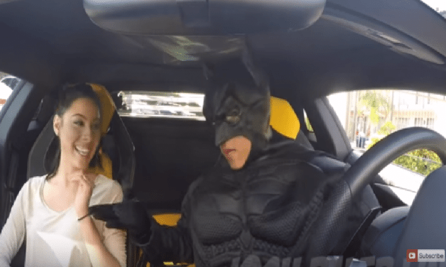 When You Call For An Uber And Batman Picks You Up
