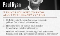 Five Things Your Should Know About Republican Vice Presidential Candidate Paul Ryan