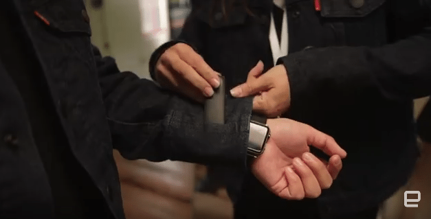 A Smart Jacket made by Levi's and Google