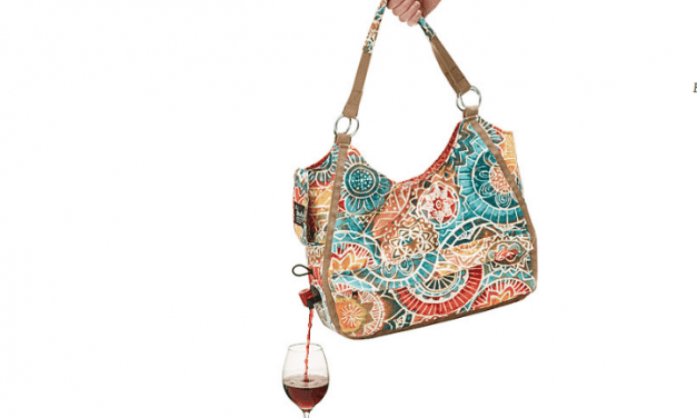 A Tote Bag That Has a Secret Pouch for Wine