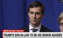 Trump Son-In-Law To Be Top Adviser