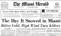 40 Year Anniversary of the Time It Snowed in Miami