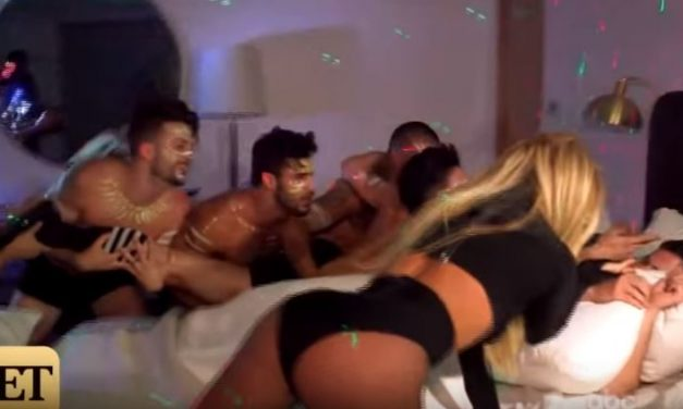 Britney Spears Breaks Into Jimmy Kimmel's House for Late Night Performance — With Shirtless Men!