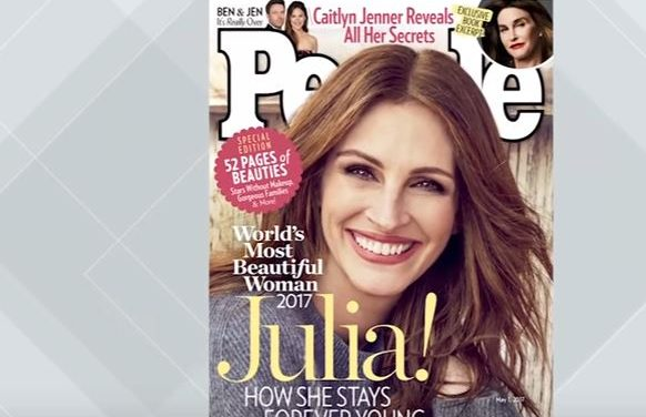 Julia Roberts Is People Magazine's 2017 Most Beautiful Woman