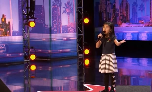 "9-Year-Old Wows Crowd With Rendition of ""My Heart Will Go On"" on America's Got Talent"