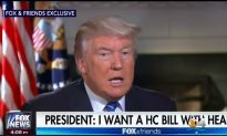 Trump Is Optimistic Health Care Bill Will Pass