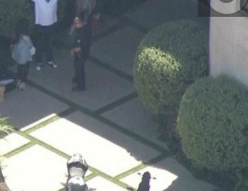 Chris Brown Standoff with LAPD